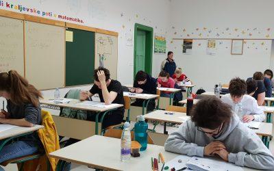 Državno tekmovanje iz Razvedrilne matematike na Gimnaziji Jesenice